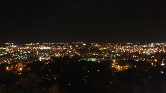 Vulcan Park and Museum : Birmingham at night