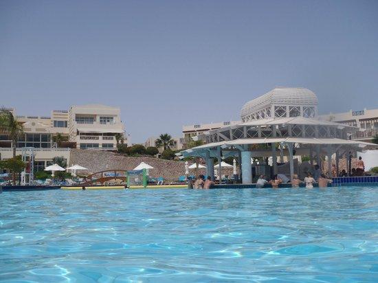 Concorde El Salam Hotel: pool bar