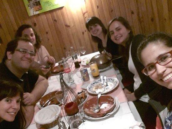 Le Patio Portugais : Infelizmente so se lembra de tirar foto depois de comer...