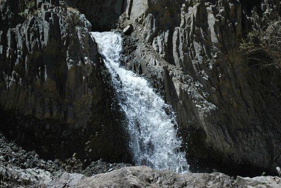 Parque Nacional El Leoncito : Cascada El Rincón