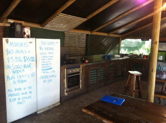 Gagaju Bush Camp: The kitchen