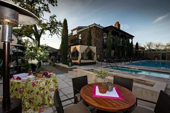 Hotel Yountville Pool 2