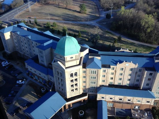 Marriott Shoals Hotel & Spa: View of the hotel form the tower for 360 Grille