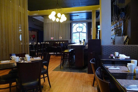 City Table: The dining area