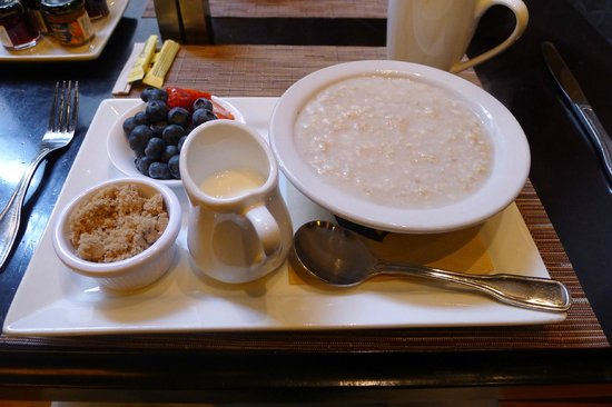 City Table: Steel-cut oatmeal
