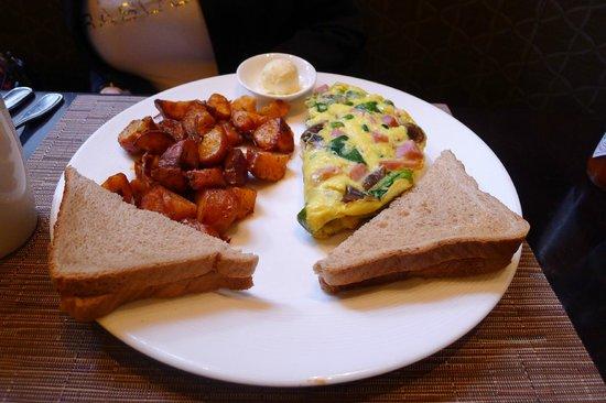 City Table: Three-eggs omelette
