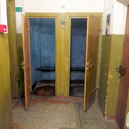 KGB Museum (Genocido Auku Muziejus): Inside the KGB nterogation rooms