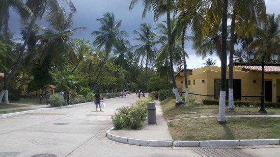 Hesperia Playa El Agua : CALLES INTERNAS