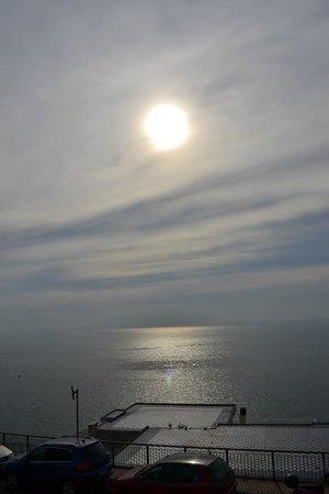 Hotel Bellevue Suites: Atardecer en Amalfi