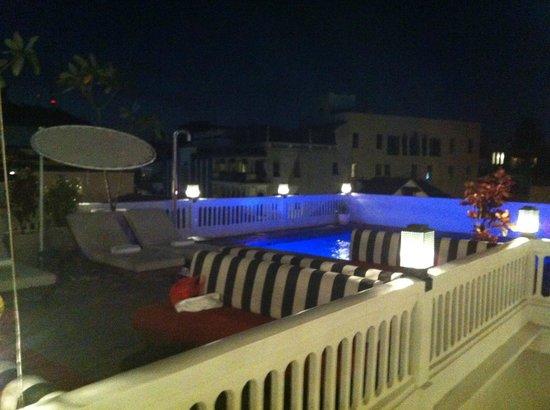 American Trade Hotel: Pool, a rarity in Casco Viejo