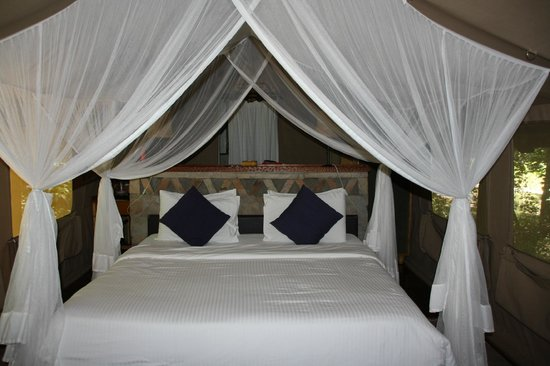 Sarova Mara Game Camp: Our room in the tent