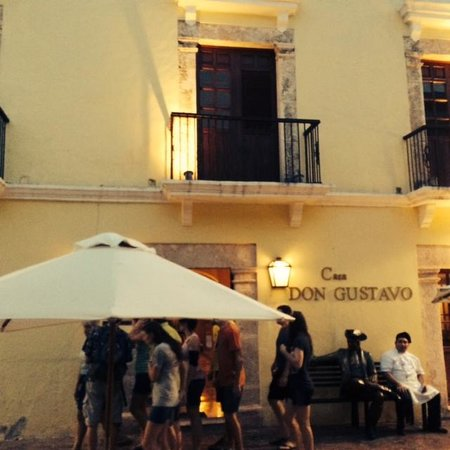 Casa Don Gustavo Hotel Boutique: View from the street