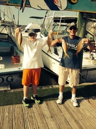 Sea Dog Fishing Charters : fish for dinner!