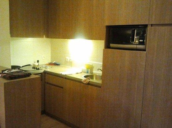 Pierre & Vacances Residenz Atria-Crozats: Kitchen