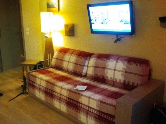 Pierre & Vacances Residenz Atria-Crozats: Living room