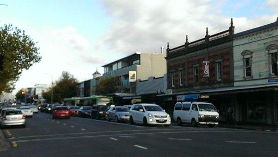 Ponsonby buildings by day