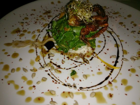 Cafedesartistes: fried soft shell crab