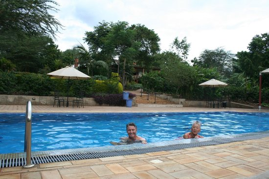 Tloma Mountain Lodge, Tanganyika Wilderness Camps: Poolside