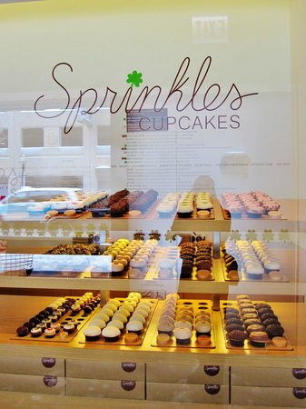 Sprinkles Cupcakes: so many to choose from