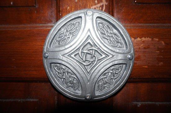Abbeyglen Castle Hotel : On one of the doors
