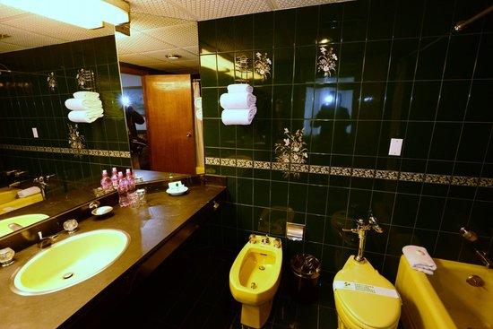 Presidente Hotel: バスルーム