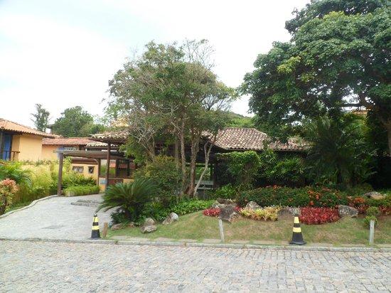 Hotel La Foret: entrada de la posada