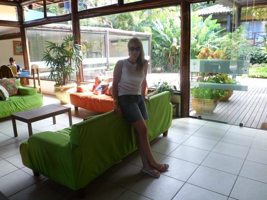 Hotel La Foret: la recepcion
