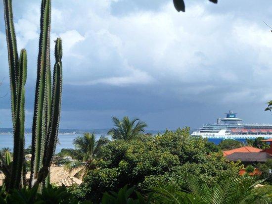 Hotel La Foret : vista desde la habitacion