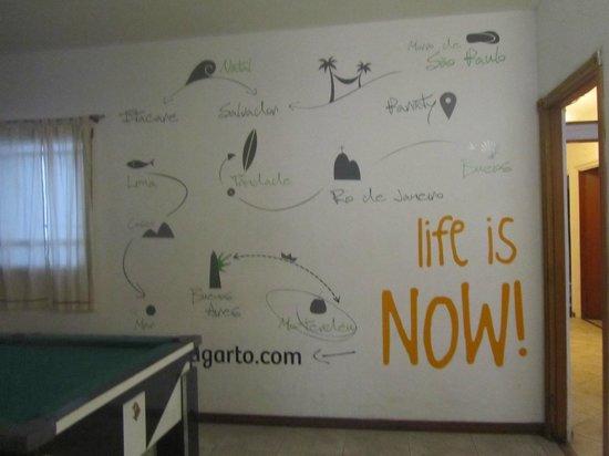Che Lagarto Hostel Paraty: Gostei da paredde