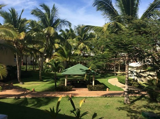 Sirenis Punta Cana Resort Casino & Aquagames: View from the room
