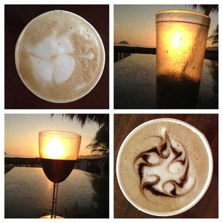 Sunscape Dorado Pacifico Ixtapa: Lattes in the morning and drinks at sunset