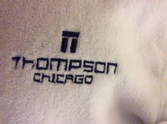 Thompson Chicago, a Thompson Hotel: cosy robes