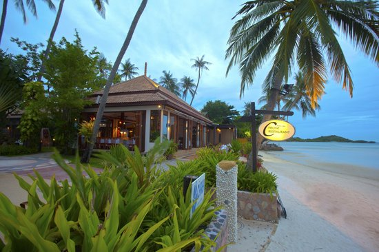 Chaba Cabana Beach Resort: C-Front Restaurant