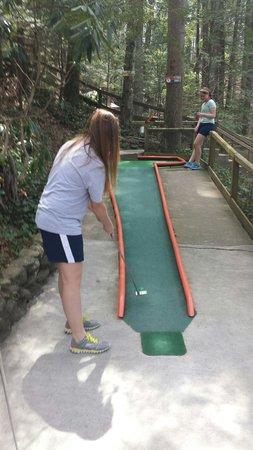 Hillbilly Golf : Concentration!