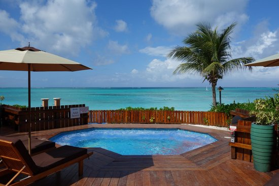 Beaches Turks and Caicos Resort Villages and Spa: View from adult only hot tub