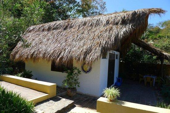 Posada Mazuntinas: Palapita/Retreat exterior