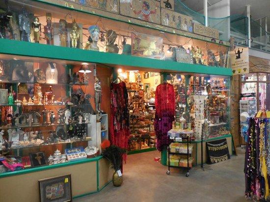 Eau Claire Market: Son of the Pharaoh Bric a Brac shop