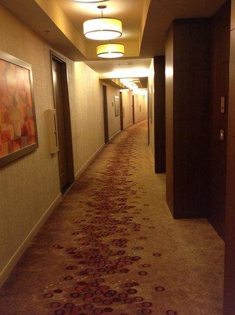 ARIA Sky Suites: Hallway to room