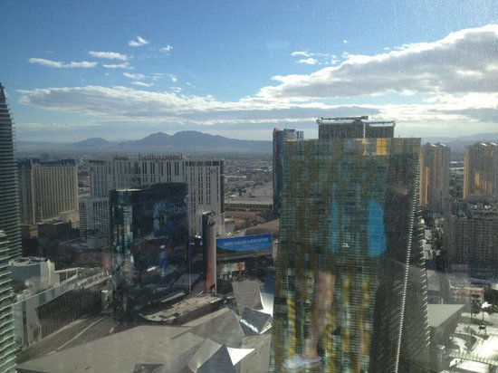 ARIA Sky Suites: Daytime view from floor 51
