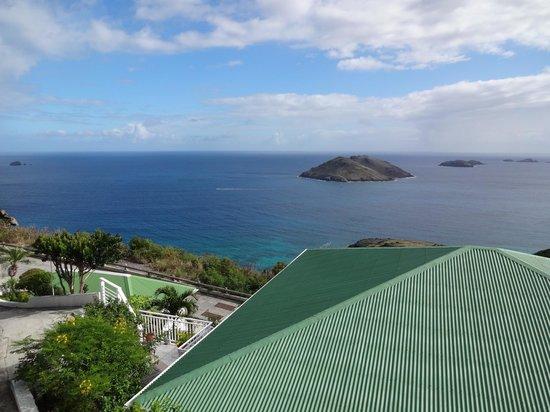 Le P'tit Morne Hotel: View