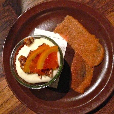 Nopa: Blood orange dessert