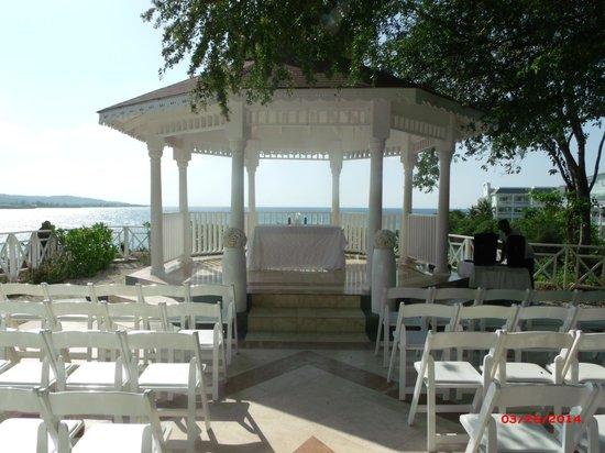 Grand Palladium Jamaica Resort & Spa : Wedding Gazebo