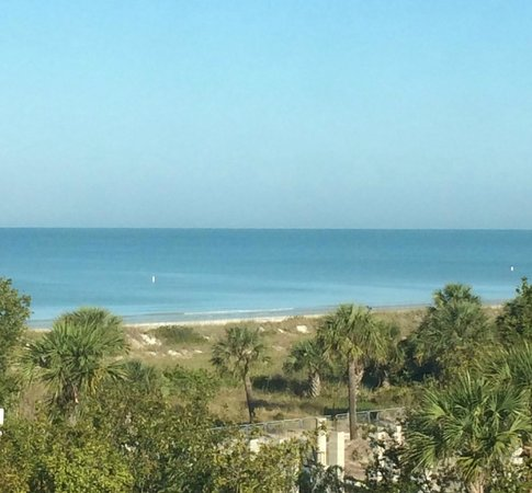 The Don CeSar : View out the room window.