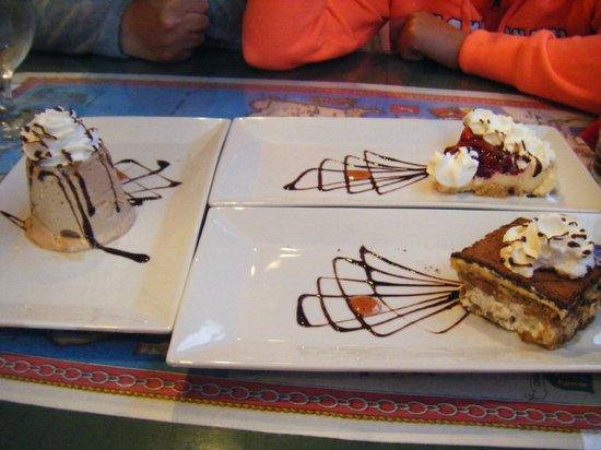 Giovanni's Cafe: Desserts