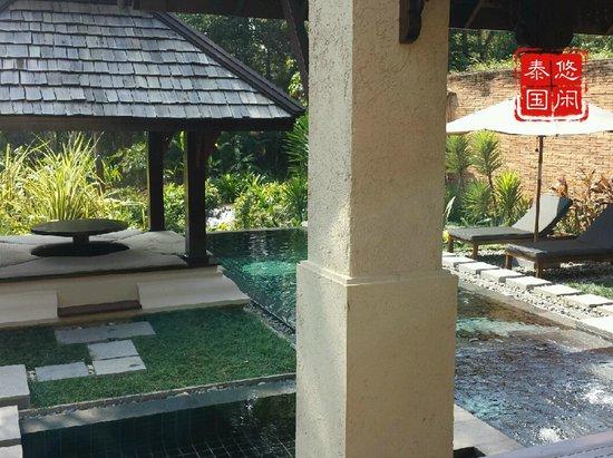 Four Seasons Resort Chiang Mai: villa garden with pool