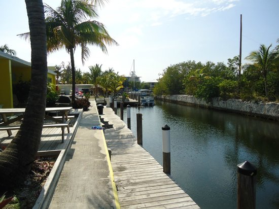 Coconut Cay Resort & Marina : Back Dock