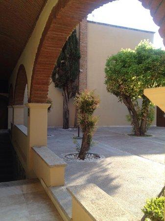 Camino Real Guanajuato : Upper Garden
