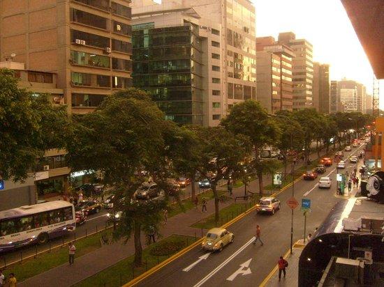 El Doral Apart Hotel: vista desde la ventana