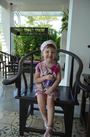 The Old Phuket: на ресепшене