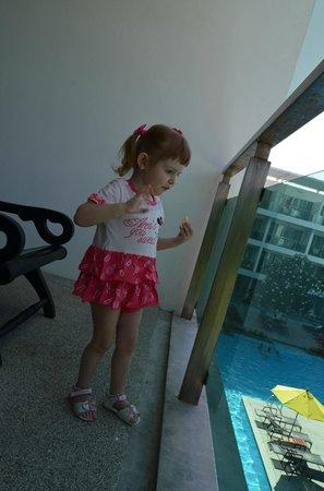 The Old Phuket: доча на балконе